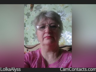 Webcam model LolkaAlyss from CamContacts