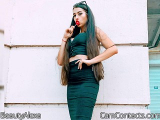 Webcam model BeautyAlexa from CamContacts