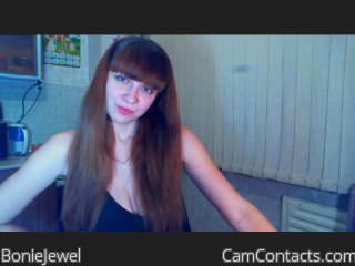 Webcam model BonieJewel from CamContacts