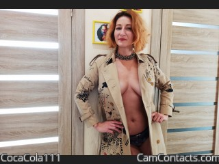 Webcam model CocaCola111 from CamContacts