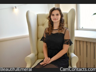 Webcam model BeautifulEmeral from CamContacts