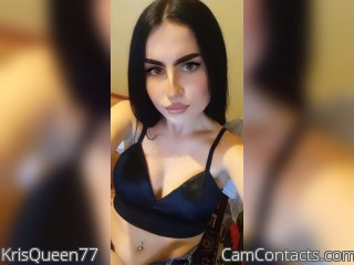 Webcam model KrisQueen77 from CamContacts