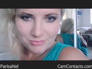 Webcam model ParisaNel from CamContacts