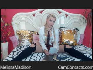 Webcam model MelissaMadison from CamContacts