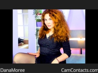 Webcam model DanaMoree from CamContacts