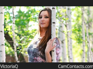 Webcam model VictoriaQ from CamContacts