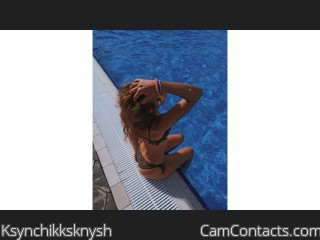 Webcam model Ksynchikksknysh from CamContacts