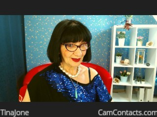 Webcam model TinaJone from CamContacts