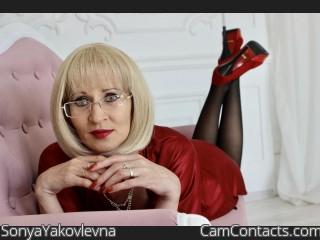 SonyaYakovlevna's profile