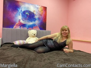 Webcam model Margiella from CamContacts