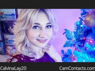 Webcam model CalvinaLay20 from CamContacts