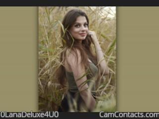 Webcam model 0LanaDeluxe4U0 from CamContacts