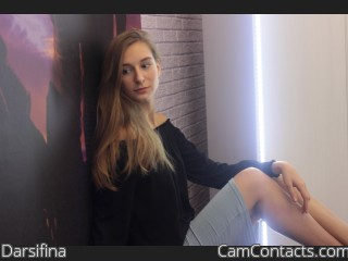 Webcam model Darsifina from CamContacts