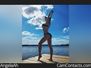 Webcam model AngelaAh from CamContacts