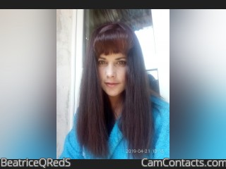 Webcam model BeatriceQRedS from CamContacts