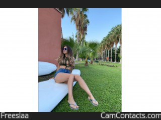 Webcam model Freesiaa from CamContacts