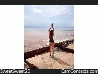 Webcam model SweetSweet20 from CamContacts