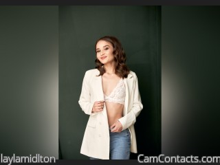 Webcam model laylamidlton from CamContacts
