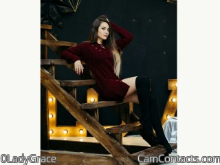 Webcam model 0LadyGrace from CamContacts