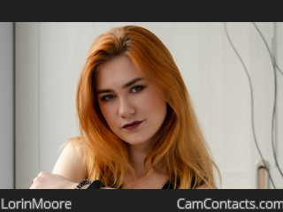 Webcam model LorinMoore from CamContacts