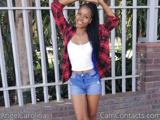 Webcam model AngelCarolina from CamContacts