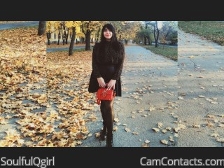 Webcam model SoulfulQgirl from CamContacts