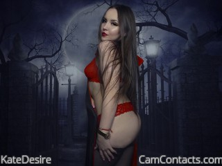 Webcam model KateDesire from CamContacts