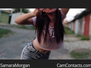 Webcam model SamaraMorgan from CamContacts