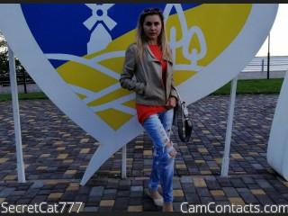 Webcam model SecretCat777 from CamContacts