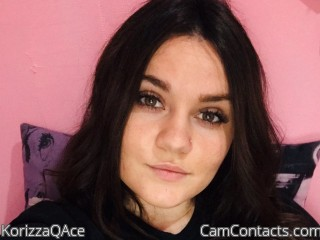 Webcam model KorizzaQAce from CamContacts