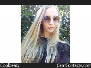 Webcam model Coolbeaty from CamContacts