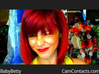Webcam model BabyBetty from CamContacts