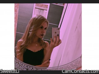 Webcam model SweetttLi from CamContacts