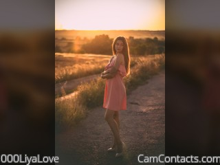 Webcam model 000LiyaLove from CamContacts