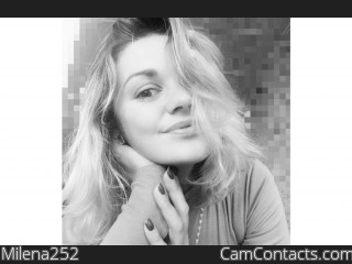 Webcam model Milena252 from CamContacts