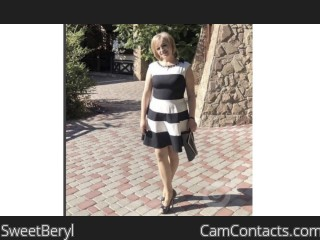 Webcam model SweetBeryl from CamContacts