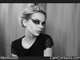 Webcam model AlexRosset from CamContacts