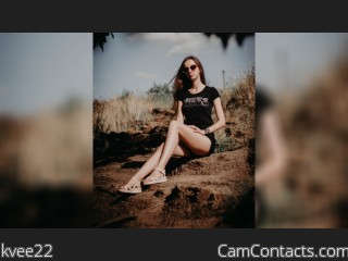 Webcam model kvee22 from CamContacts
