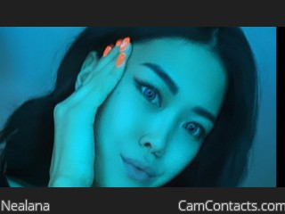 Webcam model Nealana from CamContacts