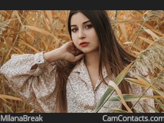 Webcam model MilanaBreak from CamContacts