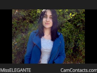 Webcam model MissELEGANTE from CamContacts