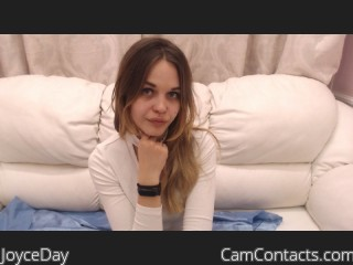 Webcam model JoyceDay from CamContacts