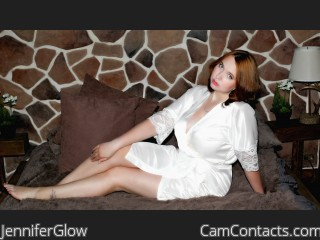 Webcam model JenniferGlow from CamContacts
