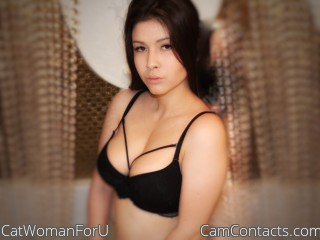 Webcam model CatWomanForU from CamContacts