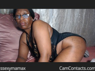 Webcam model ssexymamax from CamContacts