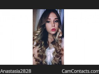 Webcam model Anastasia2828 from CamContacts