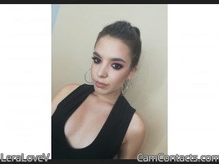 Webcam model LeraLoveV from CamContacts
