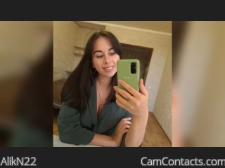 Webcam model AlikN22 from CamContacts