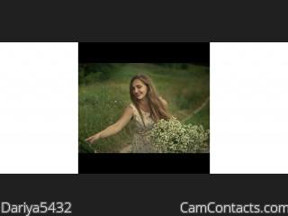 Webcam model Dariya5432 from CamContacts