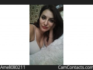 Webcam model Ameli0li0211 from CamContacts